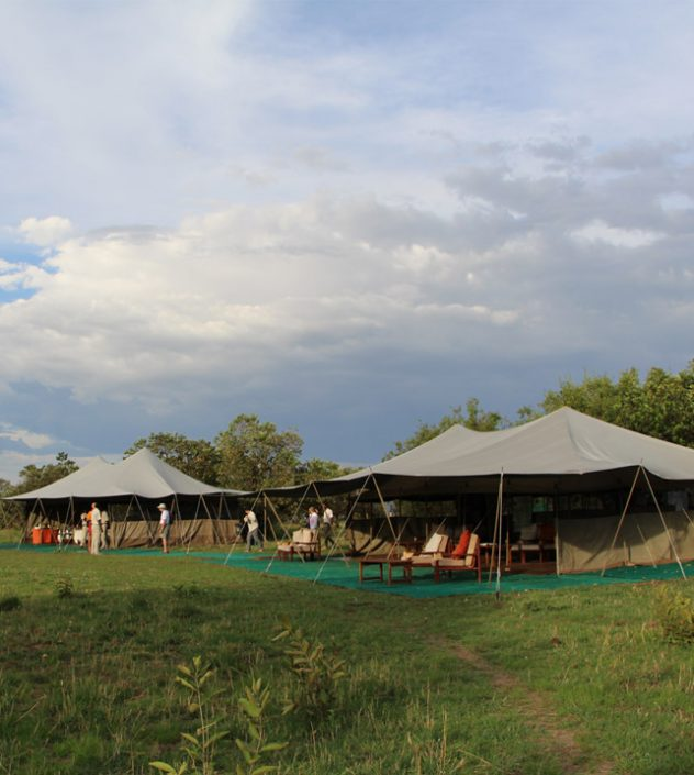 Serengeti North Wilderness Camp - Dining tent