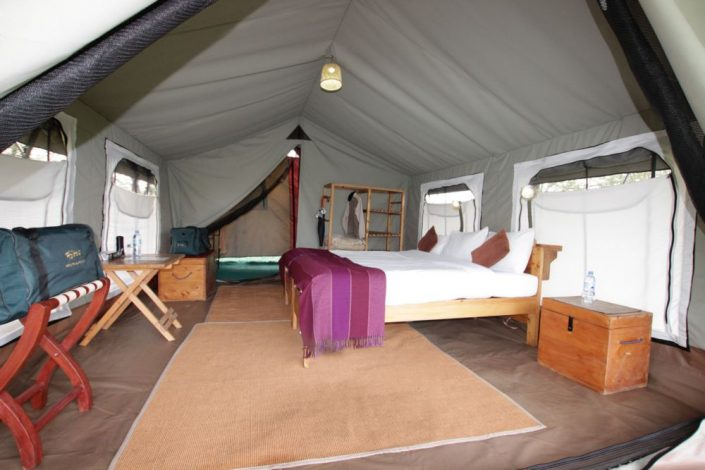 Ndutu Wilderness Tent Interior